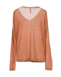 Woolrich - Orange Jumper - Lyst