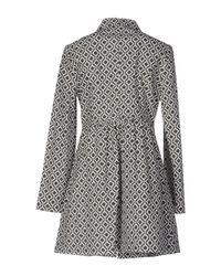 Anonyme Designers Gray Overcoat