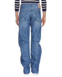 Levi's - Blue Denim Trousers for Men - Lyst