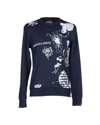 Originals By Jack & Jones - Blue Sweatshirts for Men - Lyst