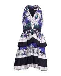 Peter Pilotto - Blue Knee-length Dress - Lyst