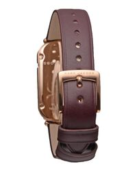 Marc Jacobs - Brown Wrist Watches - Lyst