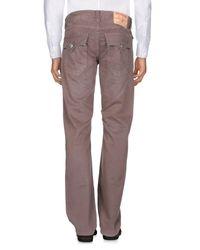 True Religion Brown Casual Trouser for men