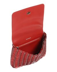 Paco Rabanne - Red Cross-body Bag - Lyst