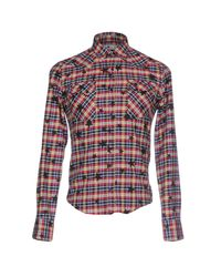 Macchia J - Blue Shirt for Men - Lyst