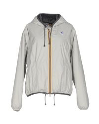 K-Way - Gray Jacket - Lyst