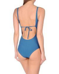 Rosa Cha - Blue One-piece Swimsuit - Lyst