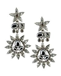 Otazu - Gray Earrings - Lyst