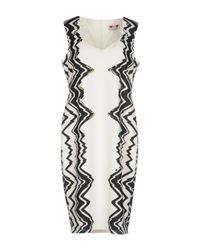 Gai Mattiolo White Knee-length Dress