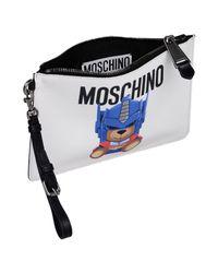 Moschino - White Handbags - Lyst