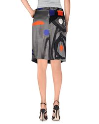 Ice Iceberg - Black Knee Length Skirt - Lyst