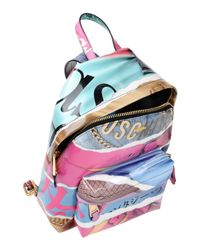 Moschino - Blue Backpacks & Bum Bags - Lyst