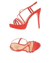 Schutz - Red Sandals - Lyst