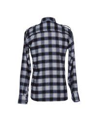 Junk De Luxe - Blue Shirt for Men - Lyst
