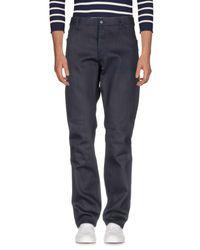 Prada - Blue Denim Trousers for Men - Lyst