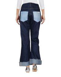 Natasha Zinko Blue Denim Pants