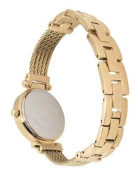 Guess - Metallic Wrist Watch - Lyst