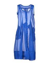 Marithé et François Girbaud - Blue Knee-length Dress - Lyst