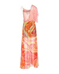 Marco Bologna - Pink Long Dress - Lyst