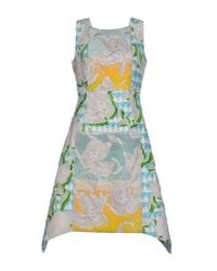 Peter Pilotto - Blue Knee-length Dress - Lyst