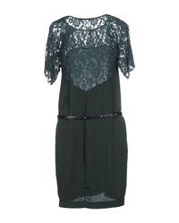 GAUDI - Green Short Dress - Lyst