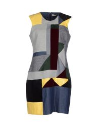 Emma Cook | Gray Short Dress | Lyst