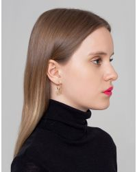 Maria Francesca Pepe - Metallic Earrings - Lyst