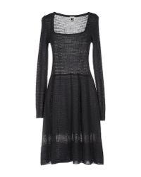 M Missoni - Purple Short Dress - Lyst