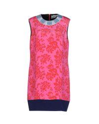 Mary Katrantzou | Multicolor Short Dress | Lyst