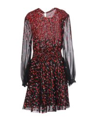 Giamba | Black Short Dress | Lyst