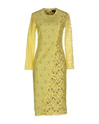 Jo No Fui | Yellow Knee-length Dress | Lyst