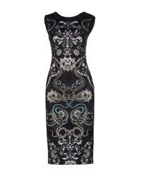 Ted Baker | Black Knee-length Dress | Lyst