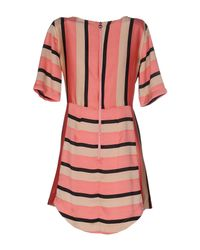 Anonyme Designers - Pink Short Dress - Lyst