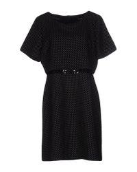 Maison Scotch | Black Short Dress | Lyst
