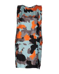 Plein Sud Jeanius | Blue Short Dress | Lyst