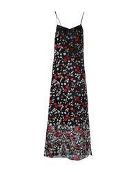 Rochas - Black Long Dress - Lyst