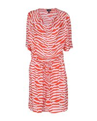 Armani Jeans | Red Short Dress | Lyst