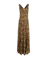 MICHAEL Michael Kors | Green Long Dress | Lyst