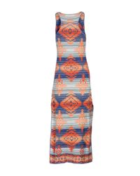 Denim & Supply Ralph Lauren - Blue Long Dress - Lyst