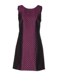 RED Valentino | Purple Short Dress | Lyst