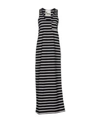 8pm - Black Long Dress - Lyst