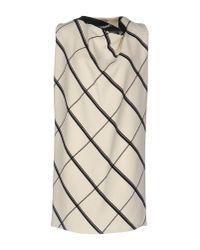 Bouchra Jarrar - White Short Dress - Lyst