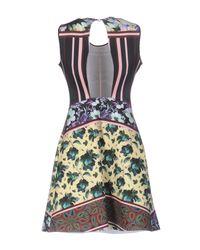 Clover Canyon - Black Short Dress - Lyst