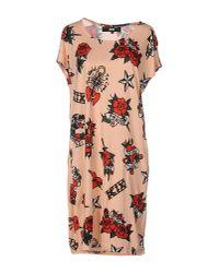 KTZ - Pink Short Dress - Lyst