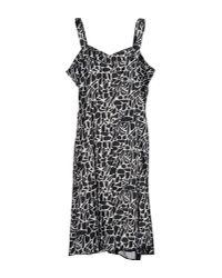 Vernissage Jewellery - Black 3/4 Length Dress - Lyst