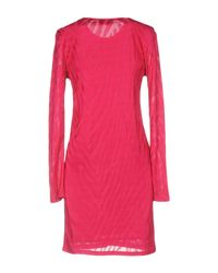 Tom Ford - Pink Short Dress - Lyst