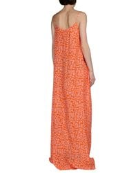 Iceberg | Orange Long Dress | Lyst