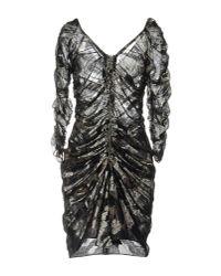 Isabel Marant - Black Short Dress - Lyst