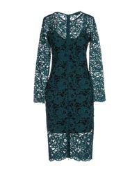 Pinko - Blue Knee-length Dress - Lyst