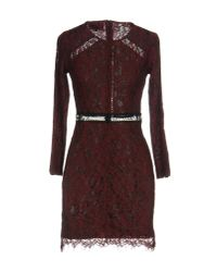 Goldie London - Purple Short Dress - Lyst